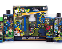 Ben10 Boys shower range