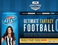 FS Challenge Ultimate Fantasy Football '08 Website