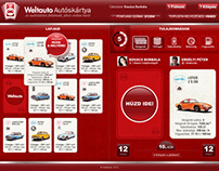 WeltAuto online game card U.I.