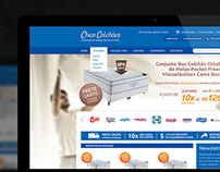 Chico Colchões -  e-commerce home page design proposal