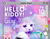 HELLO KITTY PARTY Flyer (BKK)