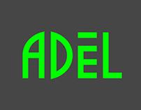 [A] ADeL Logo | Font