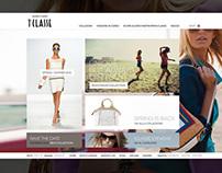 1Classe Alviero Martini corporate site and online store