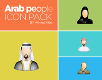 Arab People Icon Pack