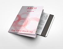 Key Card Holder Mock-up