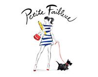 Förpackningsdesign vin - Petite Faiblesse