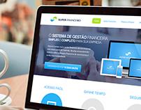 Website Interface Design - Super Financeiro