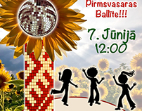 Latvian School in London Summer Party 2014 Poster