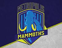 Metropolis Mammoths - Branding & Visual Identity