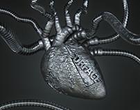 Metal heart