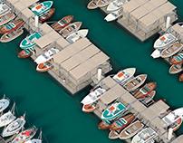 Blue Walk – Floating dry port