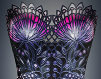 Garden of Eden, 3D Printed customisable corset