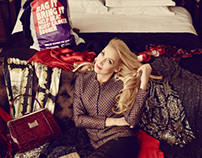 Jerry Hall for Cancer Research campaign by Jason Bell