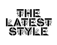Typeface «STENCIL-GOTHIC»