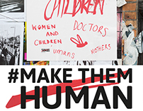 #MakeThemHuman // D&AD Monotype