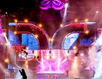 Groove Garden Festival stagedesign