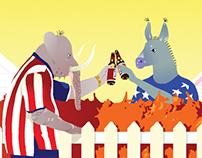 THE ATLANTIC : Do Democrats Make Better Neighbors ?