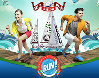 Crocs Run Sailor Run
