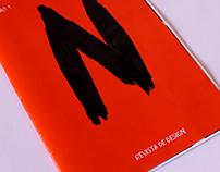 """Revista """"N""""-Revista Portuguesa de Design"""