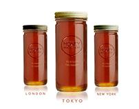 JKR - Urban honey : Honey made here