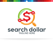 Search Dollar | Logo Template