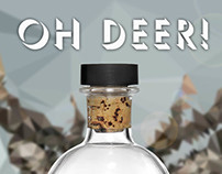 Oh Deer! Premium Vodka