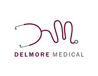 Idea based identity and CMS website for Delmore Medical