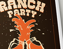 Ranch Party Poster