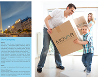 Identity for Movar + Brochure