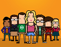The Big Bang Theory / Character Illustration