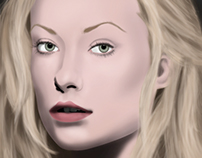 Digital Painting- Olivia Wilde