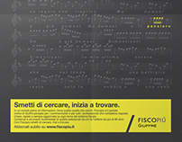 Fiscopiù Giuffrè - Print & BTL Poster