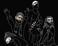Maurice Maeterlinck - The Blind (poster)