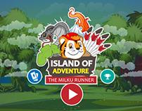 Milku Runner - Island of Adventure (Concept)
