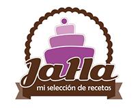 """JaHa """"mi selección de recetas"""" - Branding"""