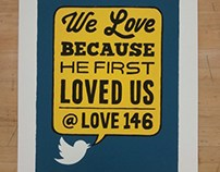 LOVE 146 (Screen Print)