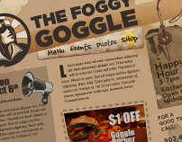 The Foggy Goggle Website