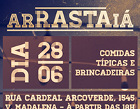 """arRASTAiá"" Flyer - Metro styled"