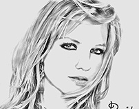 Britney Spears Pic To Drawing
