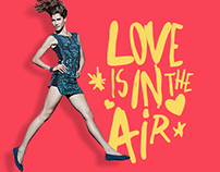 "Riachuelo ""Love is in the air"" hotsite"