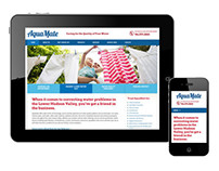 AquaMate Brand Development and Responsive Website