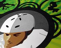 Helmet Safety Park Sign
