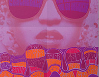 History of Psychedelic Art Poster