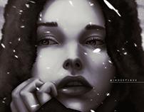 Illustration - Winter Girl