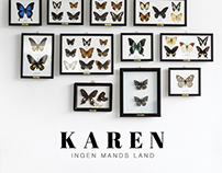 "Coverart for the artist ""Karen"" & Universal"