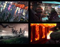 Swamp Maffia | Animation Short - Development