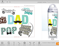 Tervis Father's Day Customyzer Stamps