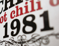 Hot Chili Oil :: Label