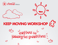 Keep Moving Coca Cola