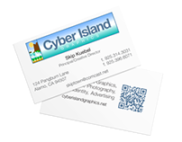 Cyber Island Graphics Branding